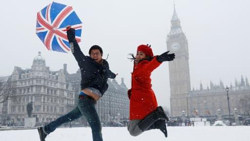 Les touristes venus d'Asie sont de plus en plus nombreux à visiter Londres.