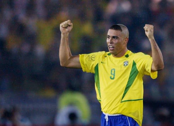 La coupe de Ronaldo lors de la Coupe du monde 2002