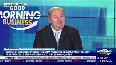Richard Viel (Bouygues Telecom): Bouygues Telecom lance son réseau mobile 5G en France - 01/12