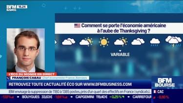 François Cabau (Barclays) : Comment se porte l'économie américaine à l'aube de Thanksgiving ? - 25/11