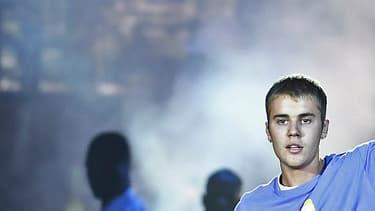 ustin Bieber en concert à l'AccorHôtels Arena de Paris, le 20 septembre 2016