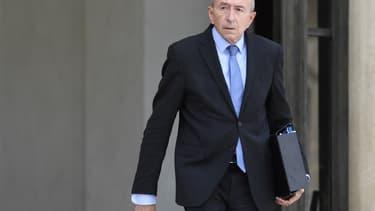 Le ministre de l'Intérieur Gérard Collomb sort du Palais de l'Elysée le 28 juillet 2017 (image d'illustration)