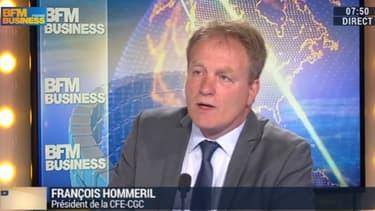 François Hommeril succède à Carole Couvert à la présidence de la CFE-CGC.
