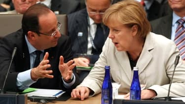 François Hollande et Angela Merkel sont en désaccord sur la supervision unique des banques de la zone euro.