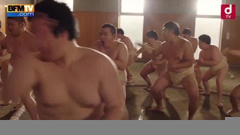Quand des sumos s'improvisent en popstars