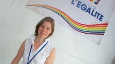 Catherine Michaud est présidente de Gaylib depuis juillet 2012