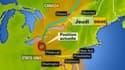 Le cyclone Sandy se dirige vers le Nord américain.