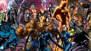 Les X-Men à la rencontre des 4 Fantastiques