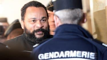 Dieudonné au tribunal correctionnel de Paris le 28 janvier 2015