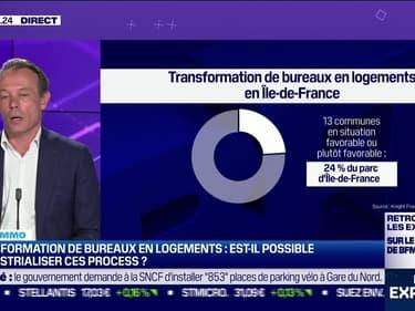 Vincent Bollaert (Knight Frank France) : Est-il aujourd'hui plus facile de transformer des bureaux en logements ? - 11/06