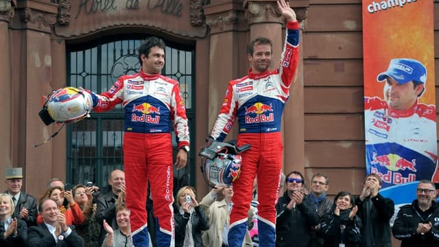 Daniel Elena et Sébastien Loeb