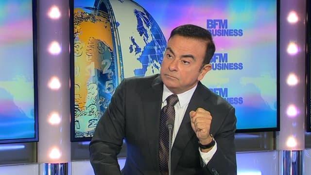 Carlos Ghosn était l'invité de BFM Business ce 4 novembre.