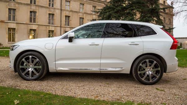 Le profil du nouveau XC60.