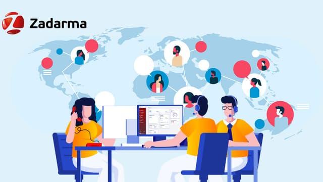 Zadarma, le service cloud de la téléphonie d'entreprise