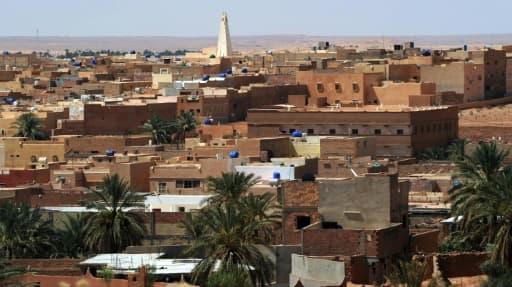 Vue de la ville de Guerara dans la région du M'zab, le 9 juillet 2015