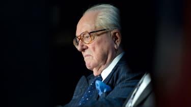 Jean-Marie le Pen a été exclu du FN en 2015 mais est resté président d'honneur.