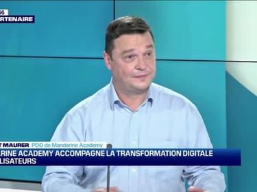 Laurent Maurier (Mandarine Academy) : Mandarine Academy accompagne la transformation digitale des utilisateurs - 06/03