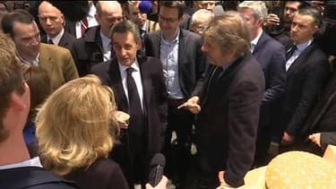 """Sarkozy: """"Carla, un Big Mac ça lui fait plaisir"""""""