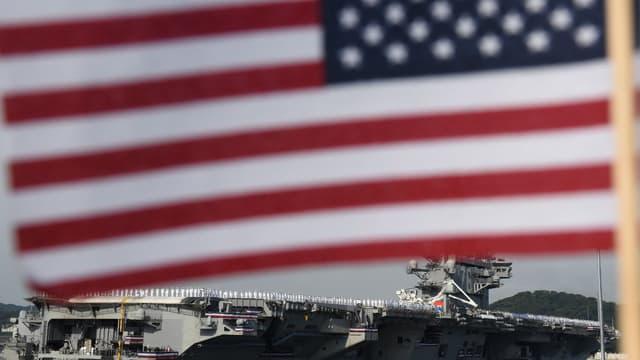 Les Etats-Unis ont perdu le contact avec deux de leurs petits navires militaires dans le Golfe (illustration).