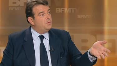 Thierry Solère était l'invité de BFMTV, ce mercredi soir.