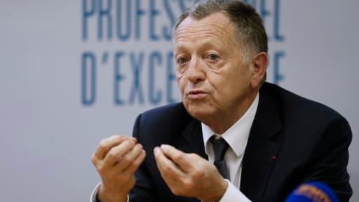 Jean-Michel Aulas, le président de l'Olympique lyonnais, s'est longtemps battu contre la taxe à 75%.