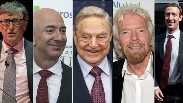 Bill Gates, Jeff Bezos, George Soros, Richard Branson et Mark Zuckerberg ont décidé de consacrer des millions au financement de la transition énergétique.