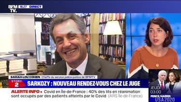 Story 4 : Nicolas Sarkozy, nouveau rendez-vous chez le juge - 06/10
