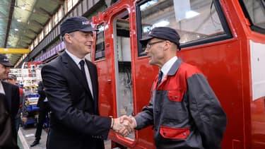 """Les engagements pris """"garantissent la pérennité d'Alstom Belfort"""" affirme Bruno Le Maire."""