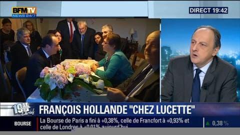 La visite de François Hollande chez une retraitée lorraine crée la polémique