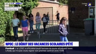Nord-Pas-de-Calais: deux semaines après leur retour à l'école, les élèves sont en vacances