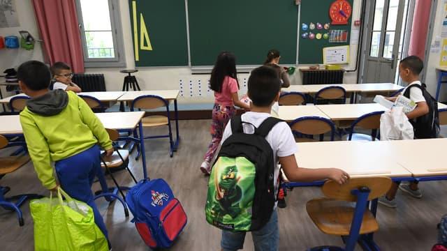 Une école à Marseille (photo d'illustration)
