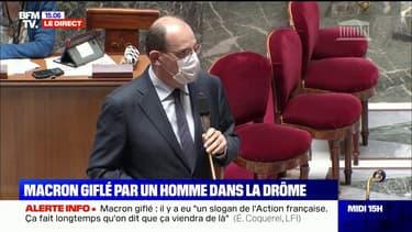 """Macron giflé: Jean Castex appelle à """"un sursaut républicain"""". """"Il en va des fondements de notre démocratie"""""""