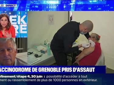 Le vaccinodrome de Grenoble pris d'assaut - 30/04