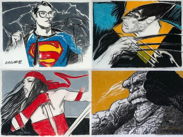 Superman, Wolverine, Elektra et La Chose