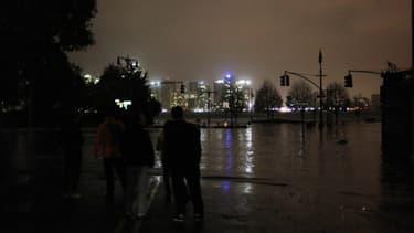 L'ouragan Sandy a provoqué une montée de des eaux de quatre mètres à New York