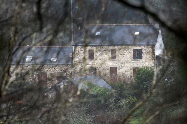 La ferme des Caouissin, à Pont-de-Buis (Finistère), en mars 2017.