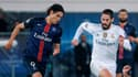 Edinson Cavani (PSG) et Isco (Real Madrid)