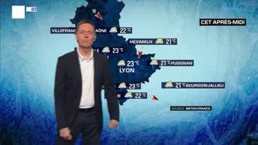 Météo Lyon: un temps couvert ce matin, des éclaircies dans l'après-midi