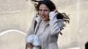 Mazzarine Pingeot arrive à l'Elysée le 15 mai 2012.