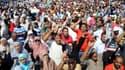 Des partisans des Frères musulmans à Alexandrie