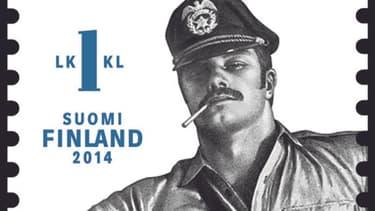 Les timbres Tom of Finland, d'après l'artiste spécialisé dans l'homoérotisme, ont un énorme succès.