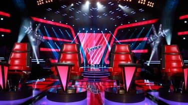 Le plateau de The Voice