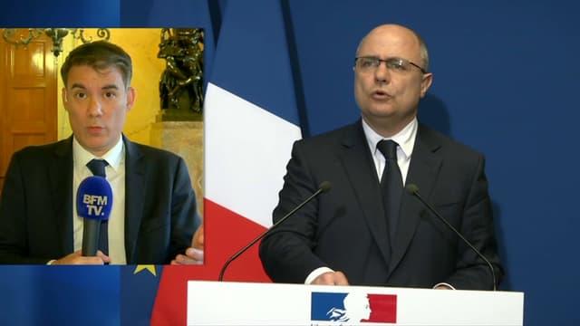 Olivier Faure salue la décision de Bruno Le Roux.