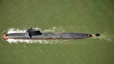 Un sous-marin Scorpène de la marine indienne, ici en mai 2016.