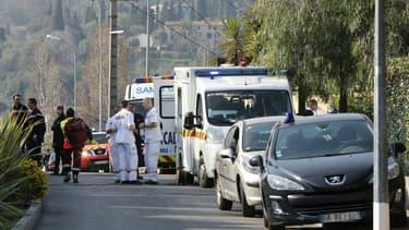 Des véhicules de secours à Grasse.