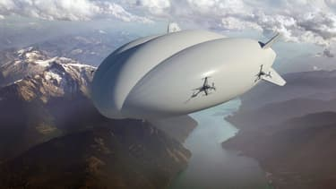 Hybrid Air Freighters (HAF) a signé une intention d'achat de 500 millions de dollars pour 12 dirigeables Lockheed Martin LMH-1