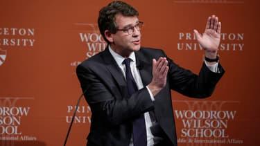 Arnaud Montebourg a donné une conférence à Princeton, aux Etats-Unis, le 23 février dernier.