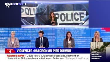 Story 8 : Emmanuel Macron au pied du mur face à la flambée de violences - 07/05