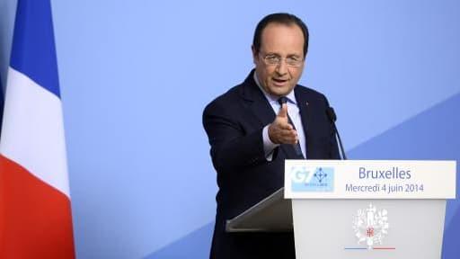 """François Hollande a dit attendre """"du respect"""" de la part de ses partenaires américains."""