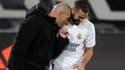 Zinedine Zidane et Karim Benzema (Real Madrid)